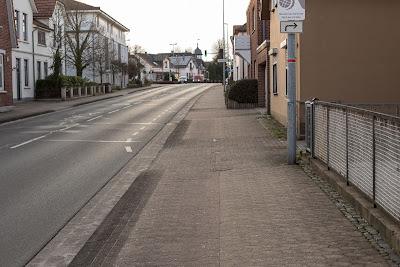 Schutzstreifen Osterholzer Straße in Osterholz-Scharmbeck