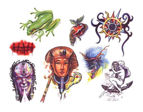 Design Of Horror Tattoo 11, Fantasy Tattoo Designs