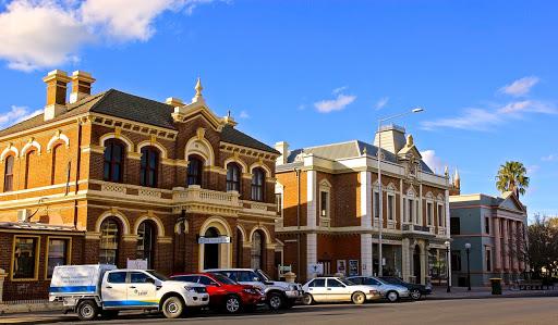 Handsome Victorian era buildings in Mudgee