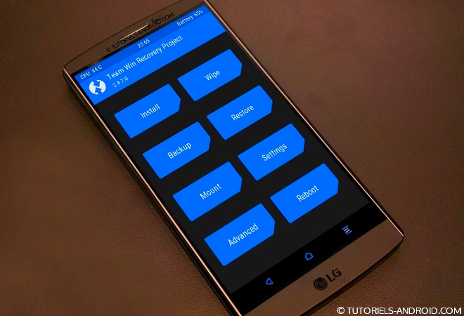 ROOT et TWRP recovery pour LG G3