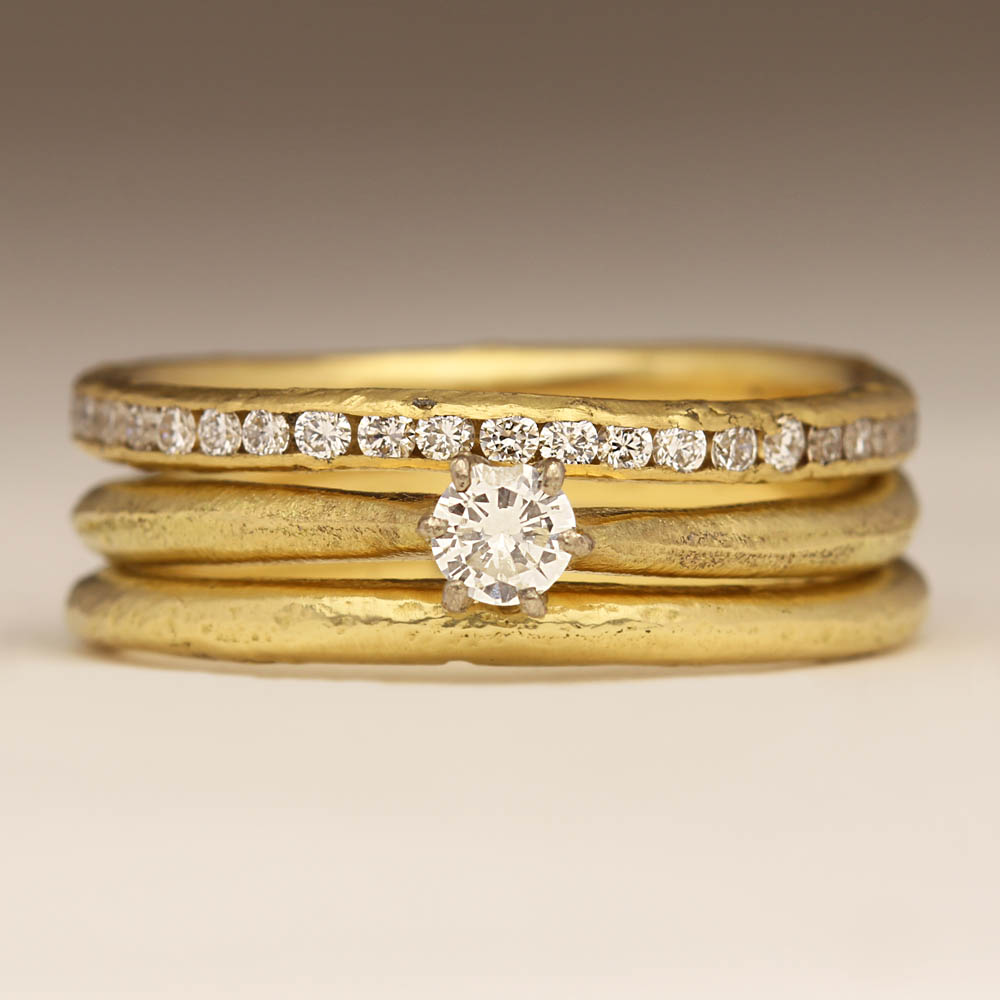 Eternity Engagement And Wedding Ring Sets 64 Vintage