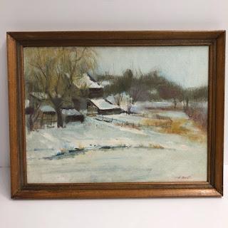 Harry Barton Oil Painting