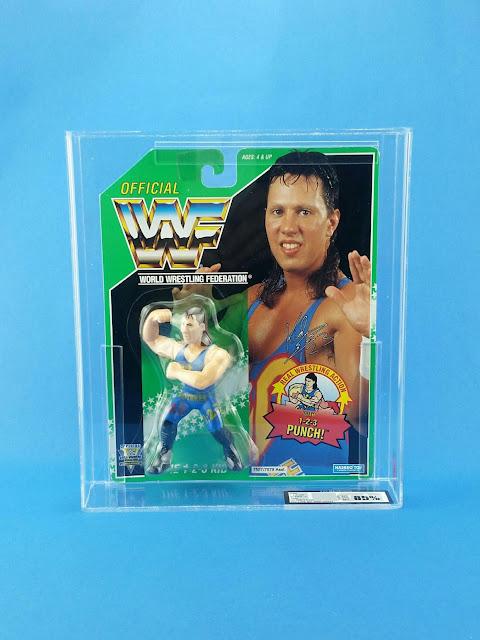 WWF Hasbro 123 Kid Graded UKG Green Series