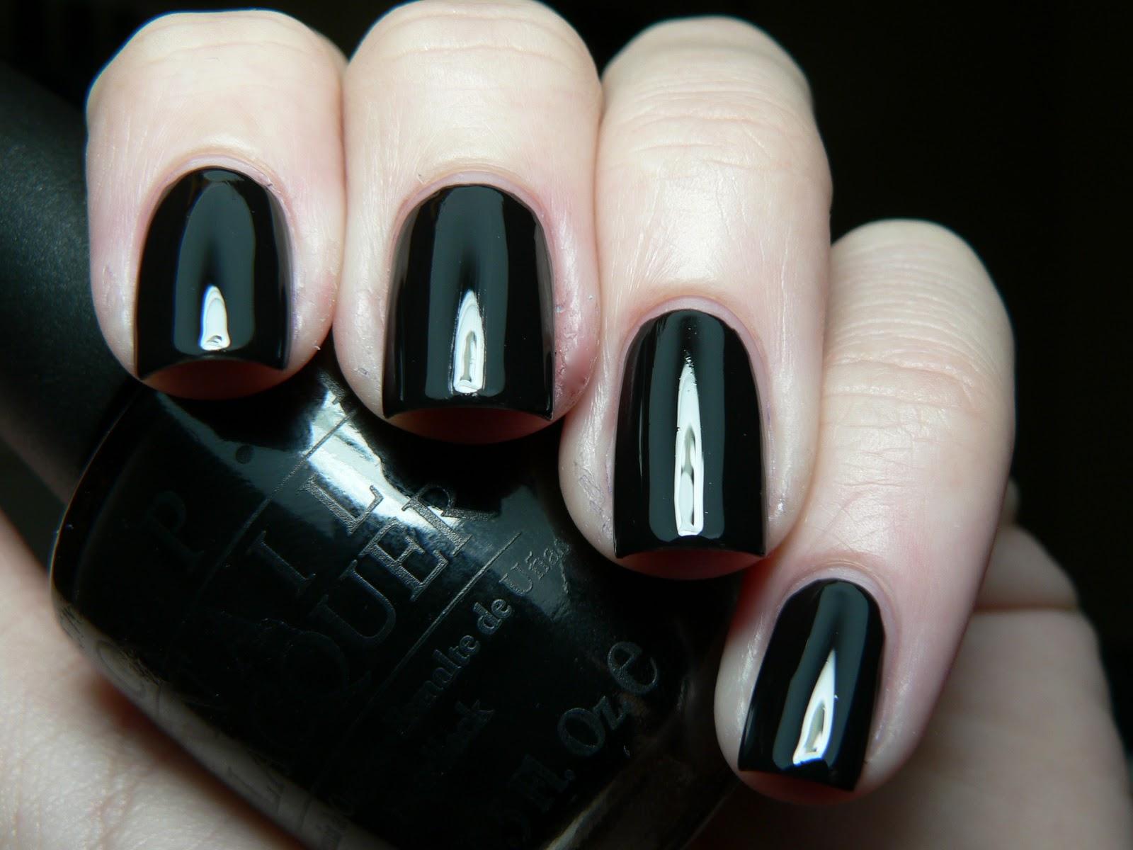 Opi Black Nail Polish | Nails Gallery