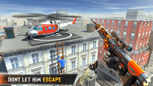 New Sniper Shooter: Free offline 3D shooting games screenshot 8