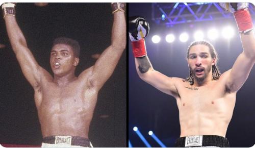 Boxe: Nico Ali Walsh, le petit-fils de Mohamed Ali, remporte son premier combat (Vidéo)