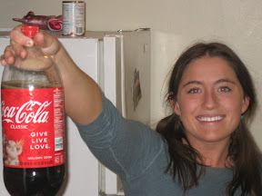 calm down, that's just regular 'ol Coca Cola
