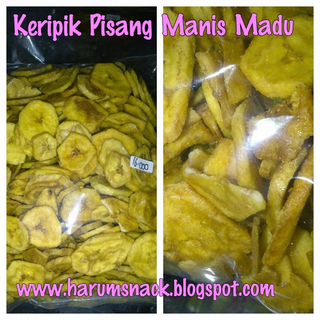Harum Snack Agustus 2014 Keripik Pisang Madu Manis Rp16000 Bks Kg