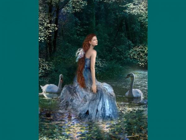 Swan Girl Of River, Magic Beauties 3