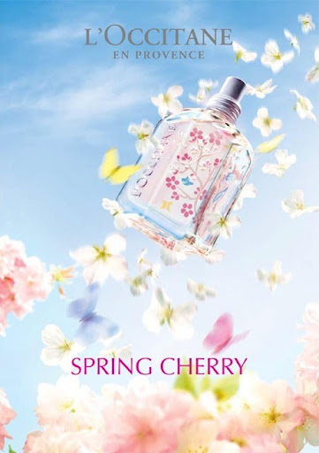 L'OCCITANE SPRING CHERRY COLLECTION