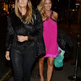 WWW.ENTSIMAGES.COM -     Fran Newman-Young and Cheska Hull   Made In Chelsea - perfume launch party at Raffles, 287 Kings Road, London December 9th 2013                                             Photo Mobis Photos/OIC 0203 174 1069