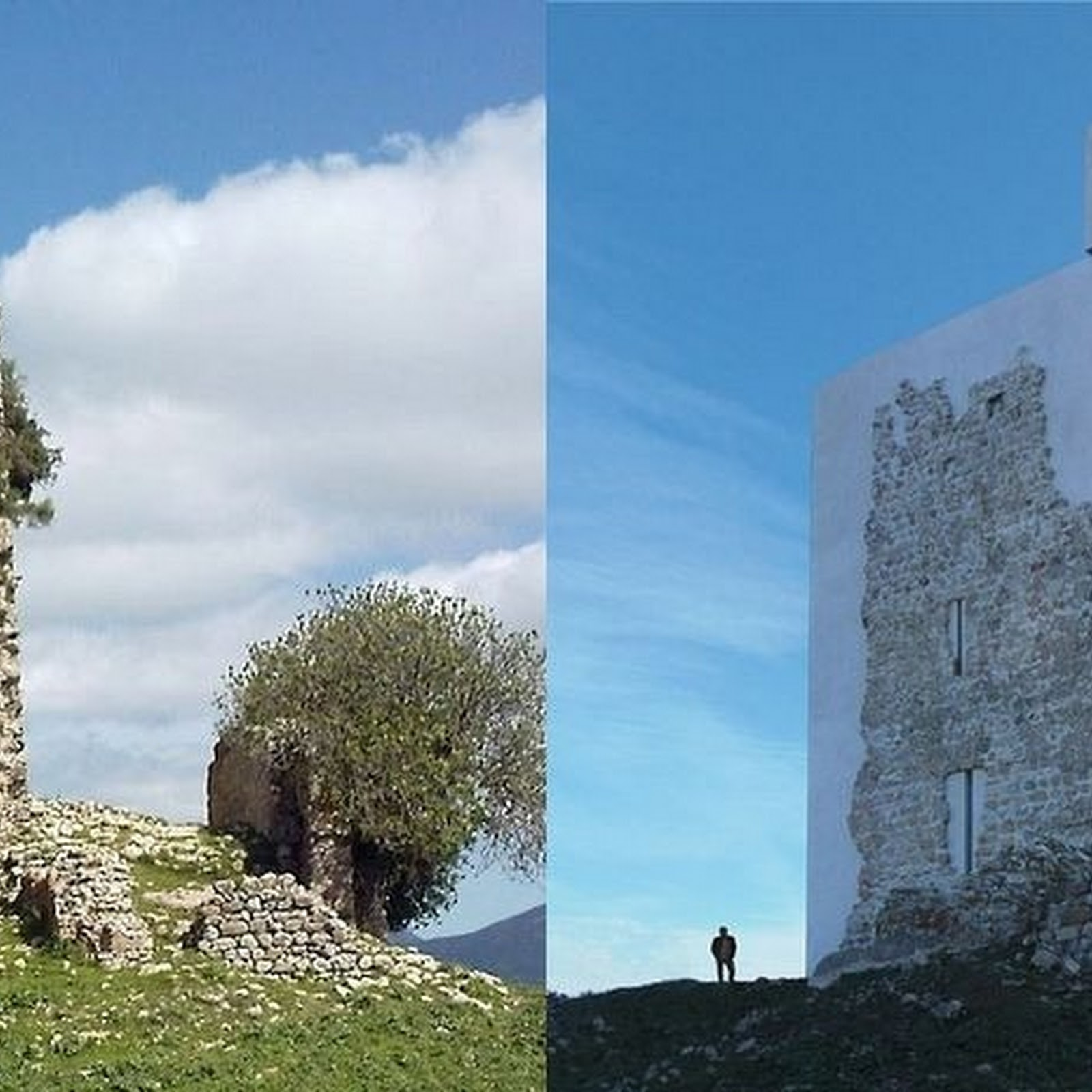The Restored Castle of Matrera