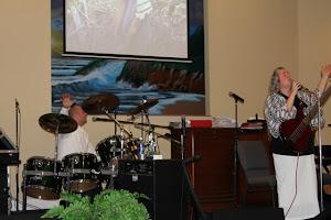 Worshipping the Lord in Carthage, TN.