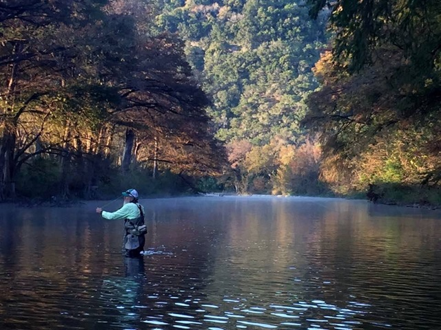 Dudleys diary fly fishing on the lower guadalupe river in for Guadalupe river fly fishing