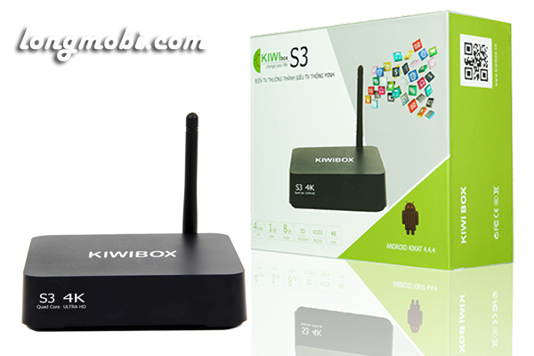 android tv box kiwi S3 thai nguyen
