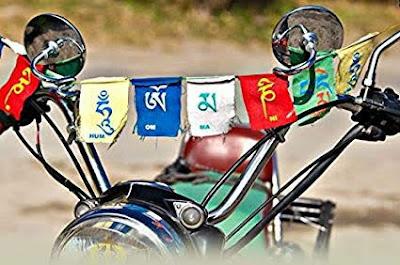 Ladakh bike flags meaning in marathi