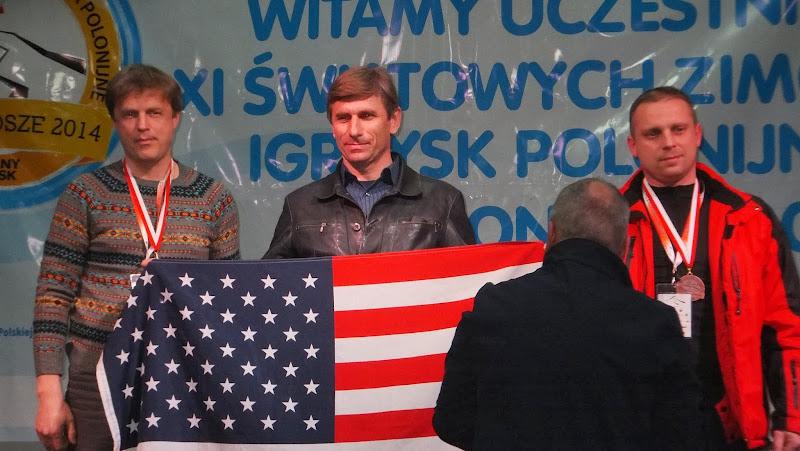 Andrzej Krygowski z USA złoty medalista w Nordic Walking
