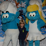 WWW.ENTSIMAGES.COM -   Harry Hickles   at       The Smurfs 2 - gala film screening at Vue West End (Leicester Square), London, July 28th 2013                                                  Photo Mobis Photos/OIC 0203 174 1069