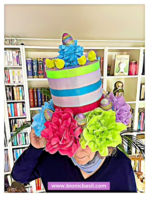 Easter Special Crafting with Cats ©BionicBasil® How to Make An Easter Top Hat - Nanny Modelling