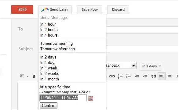 Boomerang cho Gmail