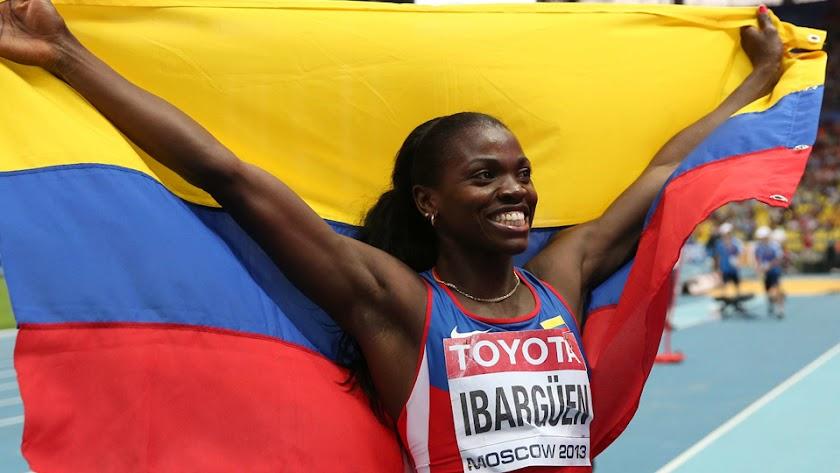 Caterine Ibargüen campeona olímpica de triple salto en Río.