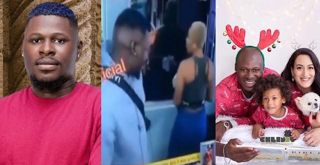 BBNaija 2021: Married Man Niyi Caught On Camera Admiring The Backside Of Beatrice [Video]