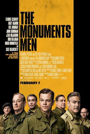 Μνημείων Άνδρες The Monuments Men Poster