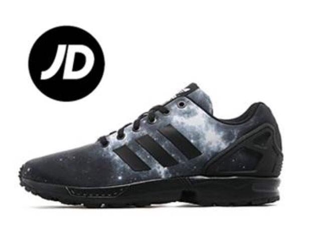 Adidas Zx Flux Print Pre School Shoes