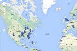 Mappa interattiva fenomeno moria animali nel mondo