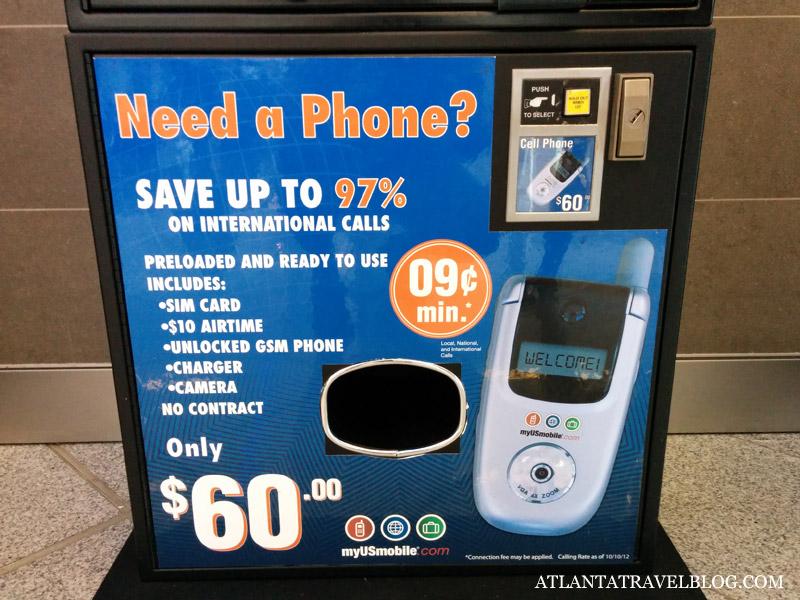 Автомат по продаже телефонов
