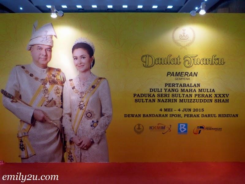 Exhibition: 35th Sultan of Perak HRH Sultan Nazrin Shah