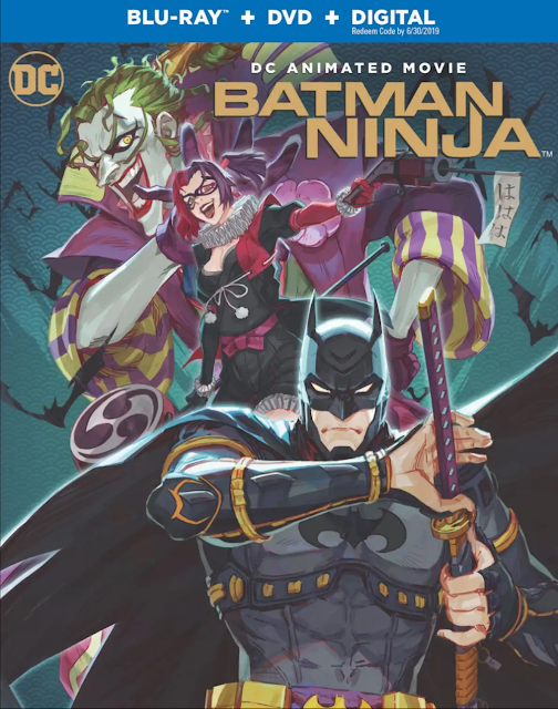 Batman Ninja cover