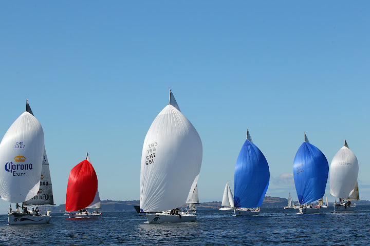 J/105s sailing Chloe Regatta- Chile (Puerto Montt, Chile)- For many sailors ...