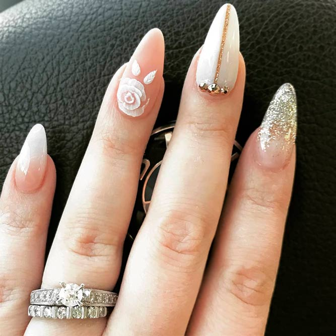 You Wont Resist This Lovely Designs For Almond Nails Fashionist Now