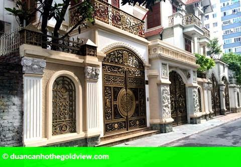 Hình 2: Dãy biệt thự xa xỉ của 3 anh em ruột đại gia Thái Bình