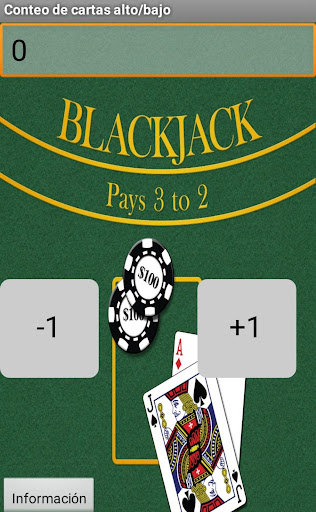 Contador Blackjack