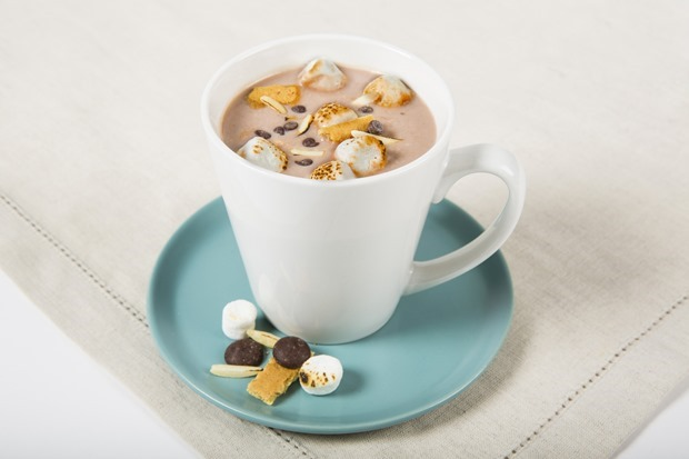Rocky Road Hot Chocolate