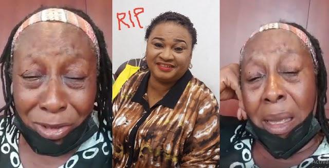 The Heartbreaking Moment Patience Ozokwo Broke Down In Tears As She Mourned Her Friend, Rachel Oniga [Video]