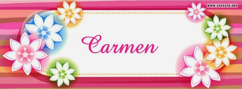 Capas para Facebook Carmen