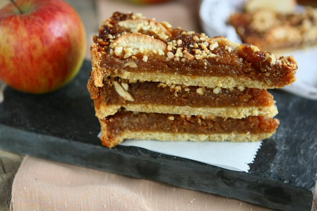 Apple, Ginger and Treacle Tart