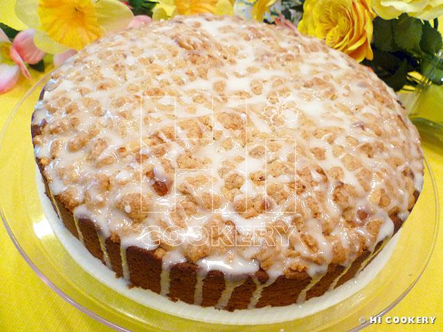 Lemon Almond Coffee Cake