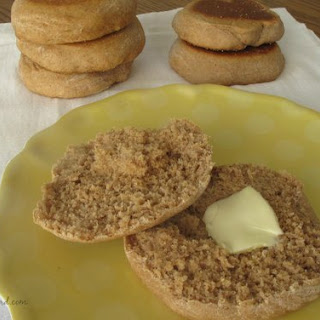 Honey Whole Wheat English Muffins Recipe