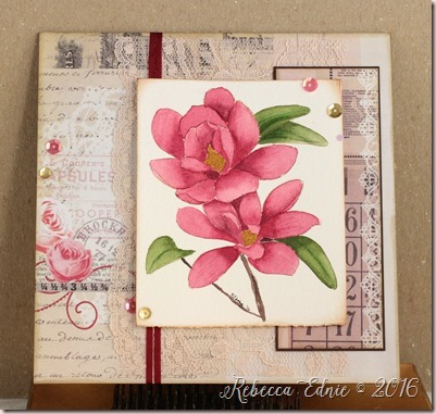 red magnolias