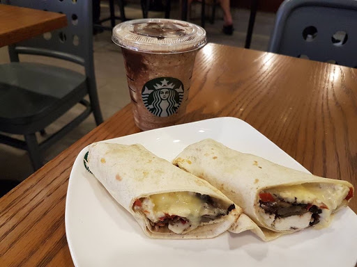 Wrap lunch at Starbucks Singapore