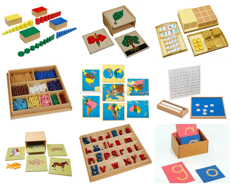 Highly Recommended Montessori Materials