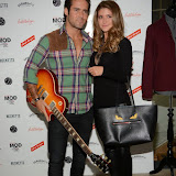 OIC - ENTSIMAGES.COM - Spencer Matthews and Lauren Hutton at the March of The Mods - book launch party  London 11th February 2015