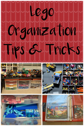 Lego Organization Tips and Tricks