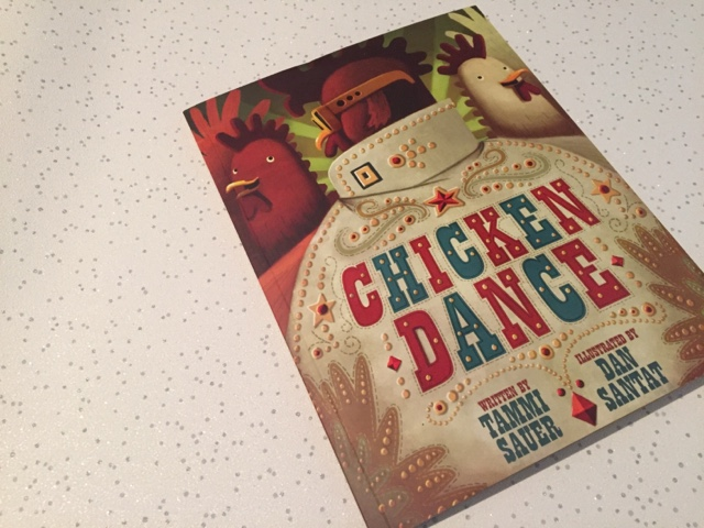 chicken dance book cover