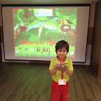 Show & Tell Activity - NEST done by students of Jr. KG. at Witty World, BN [ 2015-16 ]