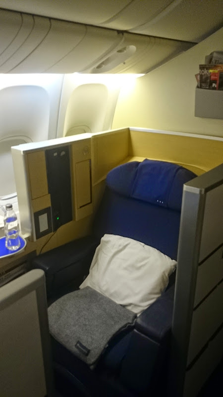 DSC 0967 - REVIEW - ANA : First Class - Tokyo Narita to London (B77W)